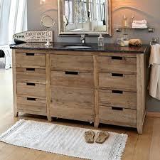 Badezimmer Unterschrank Holz Design