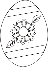 easter coloring pages easter egg with flower coloring page greatest coloring book