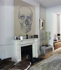 dramatic artwork above fireplace sunset plaza mood board with ideas 19