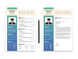 Student Resumes Template Student Resume Template By Thestyle On Dribbble