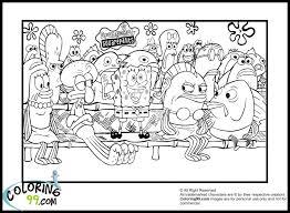 Spongebob Coloring Pages Spongebob Coloring Pages