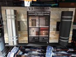 outdoor vertical stream collection cylinder light are accent