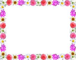 Resultado de imagen para flower border line design
