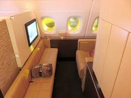 Etihad Airbus A380 First Class Apartment Review London To Abu Dhabi