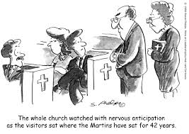 Image result for images for sitting in a church pew