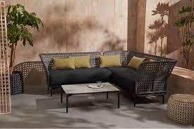 balawa garden corner sofa set grey