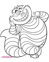 There is a mix of difficulty, from cute pictures for toddlers and preschoolers to more. Alice In Wonderland Coloring Pages 2 Disneyclips Com