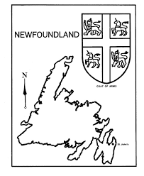7dd00857ff8bf79118b0a133db1634cc 25 best ideas about newfoundland map on pinterest newfoundland on printable map of the united states and estern canada