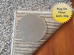 non slip rug pad. Sticky Discs Non-Slip Rug Pads For RUG-ON-FLOOR Anti-Slip Non Slip Pad D