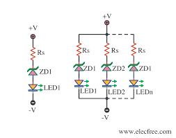 4 led voltage indicator circuits eleccircuit com 2