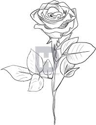 Small Picture How to Draw a Black Rose by Darkonator DrawingHub