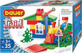 <b>Конструктор Bauer</b> Train: <b>Стройка</b>/Автодорога 35 дет - купить в ...