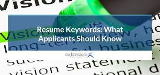 Resume Keywords Extension Inc