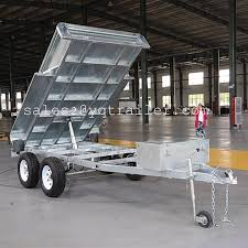 Tipping Box Trailer Designs Hot Item 10x6 Hydraulic Tipping Box Trailer