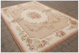 aubusson rug cream pink