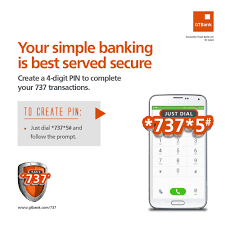 gtbank implements pin for 737 transactions everything you need to know information nigeria