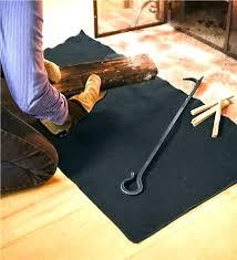 wood stove hearth rugs