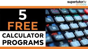 5 free ti 84 s calculator programs for the act