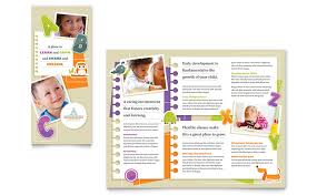 Free School Counseling Brochure Template Free Education Brochure