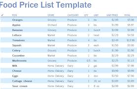 Grocery List Prices Grocery List Price Comparison Template Platte Sunga Zette