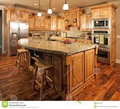 Kitchen Center Modern Home Kitchen Center Island Stock Images Image 9931594