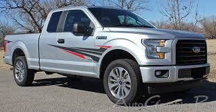 2015 2016 2017 2018 2019 Ford F 150 Door Vinyl Graphic Apollo Two Color Decals Fender To Side Panel Vinyl Graphics Kit
