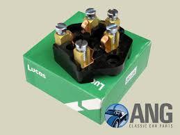 fuse box lucas sf6 wolseley 1500 ang classic car parts close up lucas fuse box