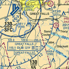 Great Falls Sectional Chart Gtf Great Falls Intl Mt Us Airport Great Circle Mapper