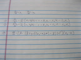 i have attached a picture of the diffeial equations that i will need to solve i have no idea how i would begin to use matlab for this