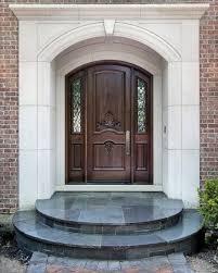 house front doorFront Door Designs for Your Amazing House  Circle Door Step Brick