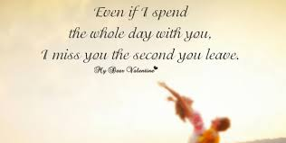spend all day with my love quote