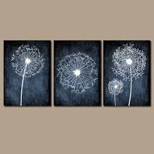 dandelion wall art prints flower