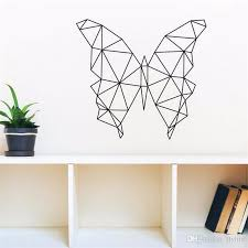 geometric butterfly vinyl wall art stickers creative wall decor for livingroom bedroom various color offer drop shipping sports wall stickers star stickers  on creative images wall art with geometric butterfly vinyl wall art stickers creative wall decor for