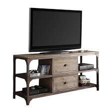weathered oak tv stand. Acme Furniture Gorden TV Stand Weathered Oak Antique Silver For Tv