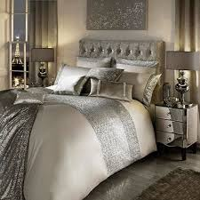 kylie minogue at home taupe mezzano duvet cover debenhams in