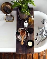 tub caddy wood rustic bath tray bathtub canada tub caddy