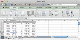 ms excel 2016 for mac freeze first row
