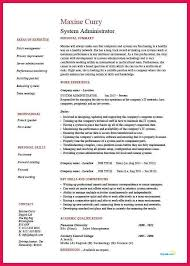 Beautiful Resume Title For System Administrator Gallery - Simple .