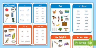 Children loved learning to recognize letter characters with the meet the letters. French Phonics Flashcards Twinkl Elementary Resources