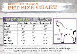 Rubies Dog Costume Size Chart Rubies Costume Company Monster Set Pet Costume Large Blue