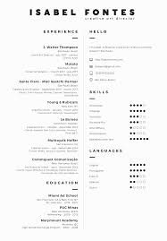 Resume Isabel Fontes Creative Art Director