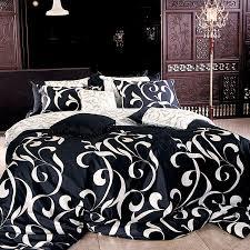 vintage bedroom design with black white bedding set king romantic black white duvet cover