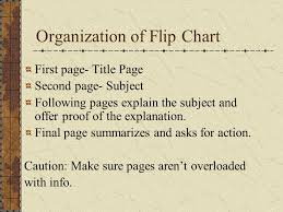 How To Make A Flip Chart Presentation How To Use Flip Charts Effectively Ppt Video Online Download