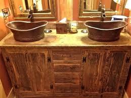 rustic bathroom vanities ideas26 rustic
