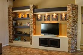 Small Picture Media Wall 3 Contemporary Family Room Phoenix by