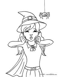 Small Picture WITCH coloring pages 67 printables to color online for Halloween