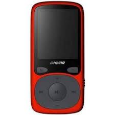 MP3 <b>плеер Digma B3 8GB</b> Red