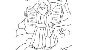 Ten Commandments Coloring Pages Ten Commandments Coloring Pages