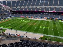 Chicago Bears Seating Chart Soldier Field Section 252 Seat Views Seatgeek