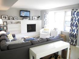 love light gray walls dark couch and blue accent nice sherwin williams mindful gray living room with navy family room with turquoise